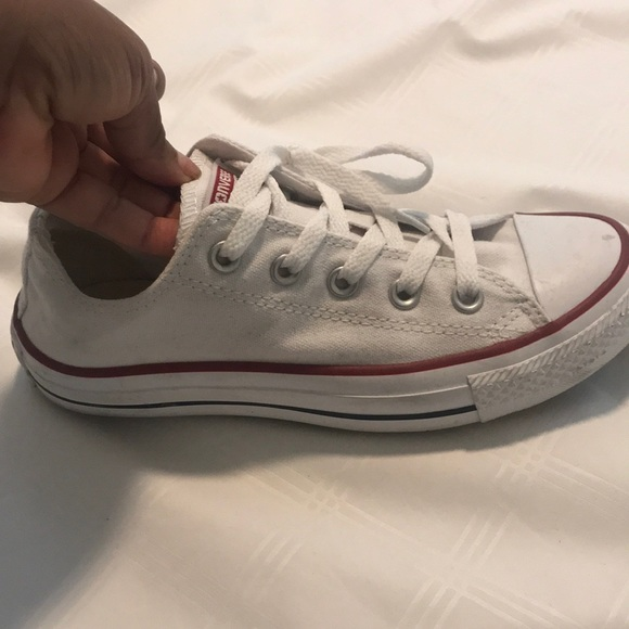 Converse Shoes - chuck Taylor  allstar Low in white